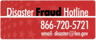 Report Disaster Fraud - View Disaster Fraud Hotline Information