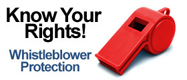 Know your Rights - View OIG Whistleblower Protection Information